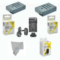 2 Pcs Battery + Charger For Nikon Nikon D5300 D3200 D3100 (en-el14) Usa Seller