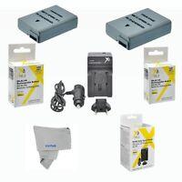2 Pcs Battery + Charger For Nikon D5100 D3300 D3200 D3100 (en-el14) Usa Seller
