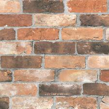 Reclaimed Brick Wallpaper by A Street Prints