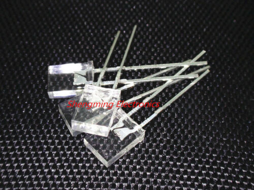 100PCS 2x5x7 Red Color Led 1.8~2.2V 120deg 2*5*7 MM water clear