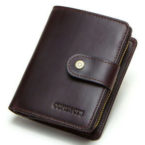 Mens-Genuine-Leather-Wallet-Bifold-RFID-Blocking-Credit-Card-Holder-Pocket-Purse