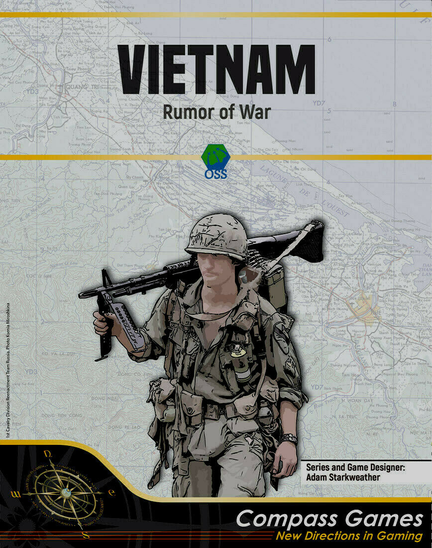 Compass Games Vietnam  Rumor of War Brand New In Shrink Wrap Fast Shipping