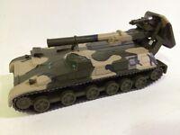 IXO Fabbri 1/72 MILITAIRE TANK CHAR RUSSE 2S4 TUYLPAN MORTIER 240 mm !!