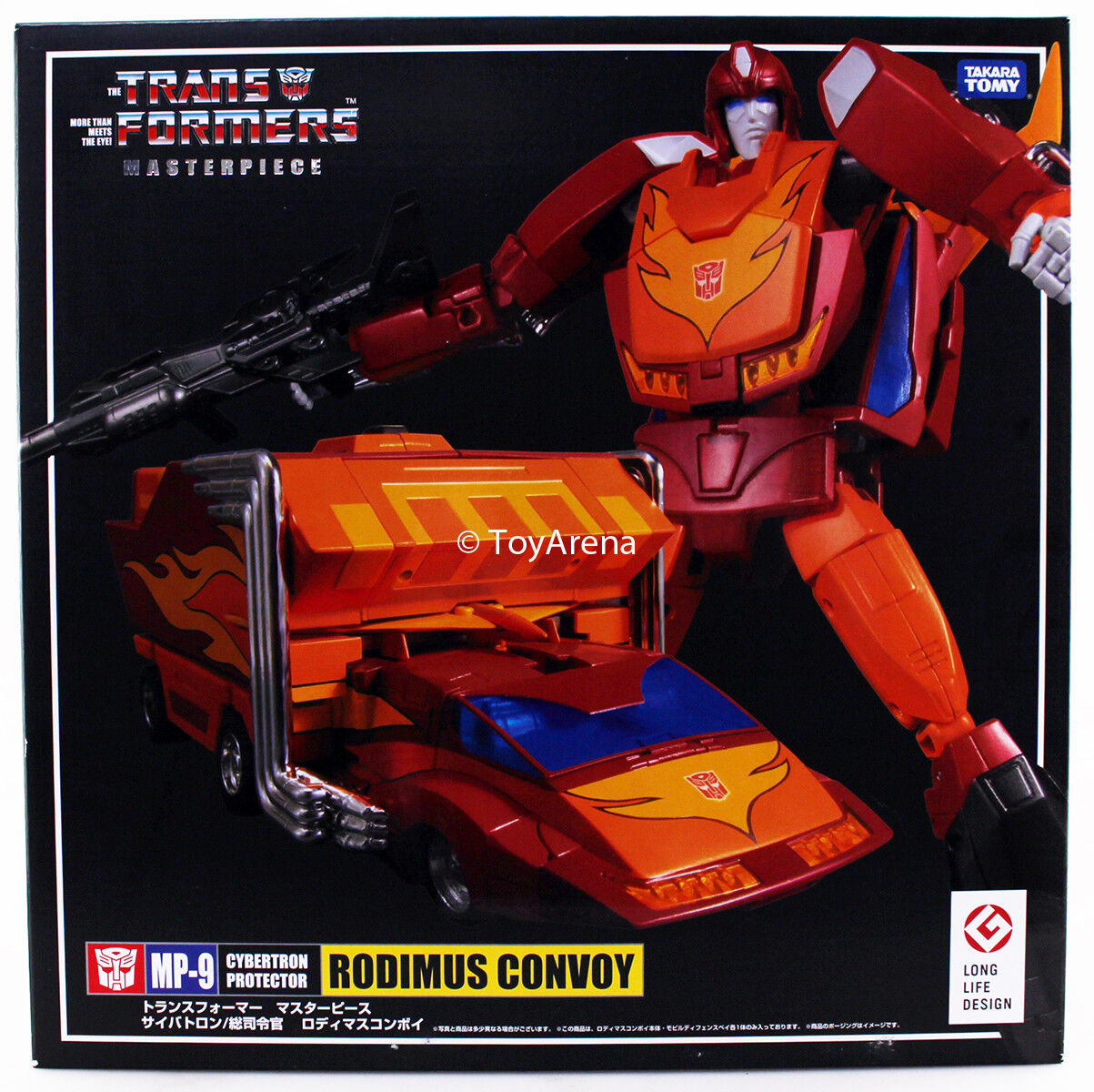 Transformers Masterpiece MP-09 Rodimus Prime Long Life Design Takara USA Seller