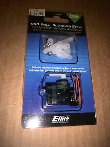 SRX Blade 200 SR X CX2 CX3 E-Flite EFLRS60 S60 Super Sub-Micro Servo 6.0-Gram