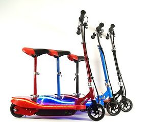 elektro scooter e roller mini pocket city bike led licht. Black Bedroom Furniture Sets. Home Design Ideas