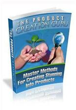 The Product Creation Guru Ebook On CD $5.95 Plus Resale Rights Free Shipping