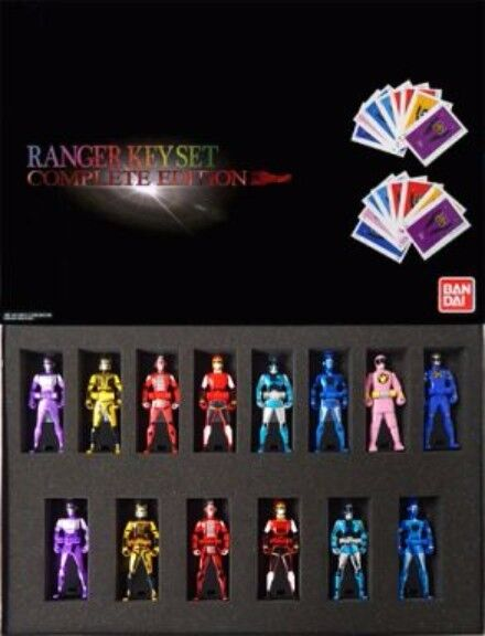 Power Rangers Bandai Power Rangers Ranger Key Set Complete Edition Metal Hero