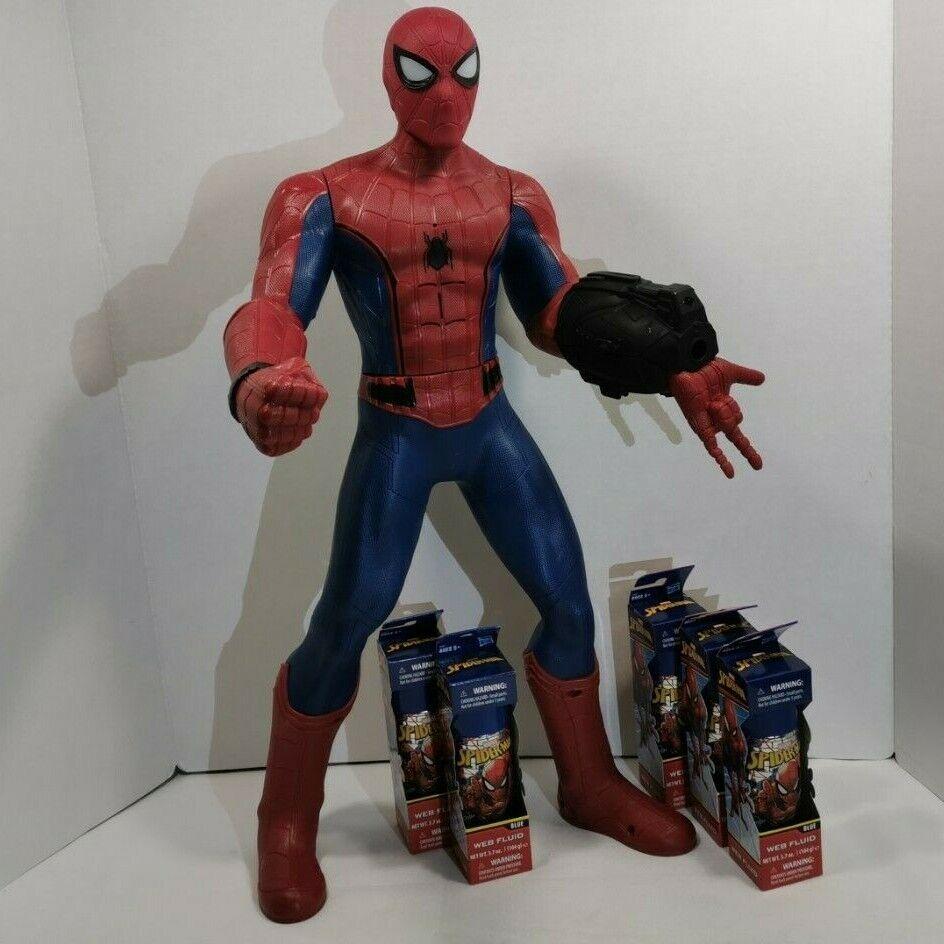 2017 Spideruomo Homecoming Super Sense Hasbro 24 Interactive cifra w Web Scaliente