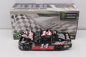 CLINT-BOWYER-14-2018-HAAS-MICHIGAN-RACED-WIN-1-24-SCALE-NEW-FREE-SHIPPING
