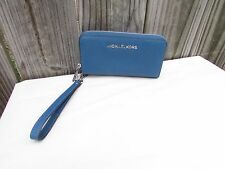 556470123aaa item 4 Michael Kors Blue Saffiano Leather Zip Around Cell Phone Wristlet  Clutch Wallet -Michael Kors Blue Saffiano Leather Zip Around Cell Phone  Wristlet ...