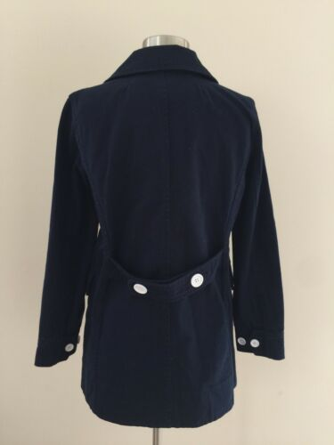Heavyweight Cotton G2009 2017 Forår Petite NWT 10 Twill I Navy Jcrew Peacoat ZRFwqUFH