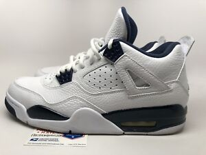 free shipping f9f3b 5820f Details about Nike Air Jordan 4 Retro LS 'Legend Blue' Mens sz 10 Pre-owned