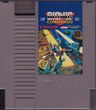 BIONIC COMMANDO NINTENDO GAME ORIGINAL CLASSIC NES HQ