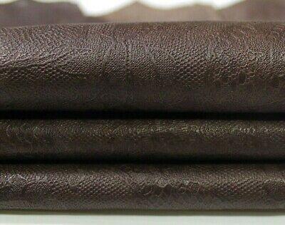 WASHED PURPLE vegetable tan Italian Lambskin leather skin 7sqf 1.2mm #A6697