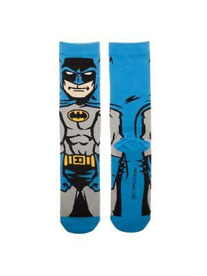 OFFICIAL DC COMICS - BATMAN SUIT UP 360 RED CREW PAIR OF SOCKS (BRAND NEW)