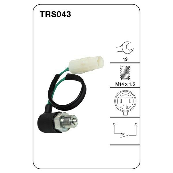 Tridon Reversing Light Switch FOR SUBARU LIBERTY LEGACY FORESTER TRS043