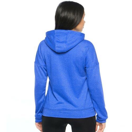 ASICS Donna Con Cappuccio Felpa Blu Viola imperfezione da donna Core Training Felpa con Cappuccio