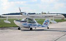 Aeroprakt A-24 Viking Amphibious Airplane Wood Model Regular