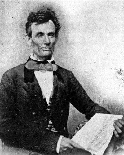 Future President Abraham Lincoln During Senate Campaign New 8x10 Photo 1854