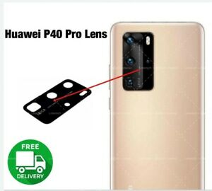 For-Huawei-P40-PRO-Rear-Camera-Glass-Lens-part-Black