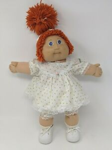 Jesmar-Cabbage-Patch-Kid-Doll-Red-Hair-Blue-Eyes-HM2-Spain-Single-Pony-Clothes