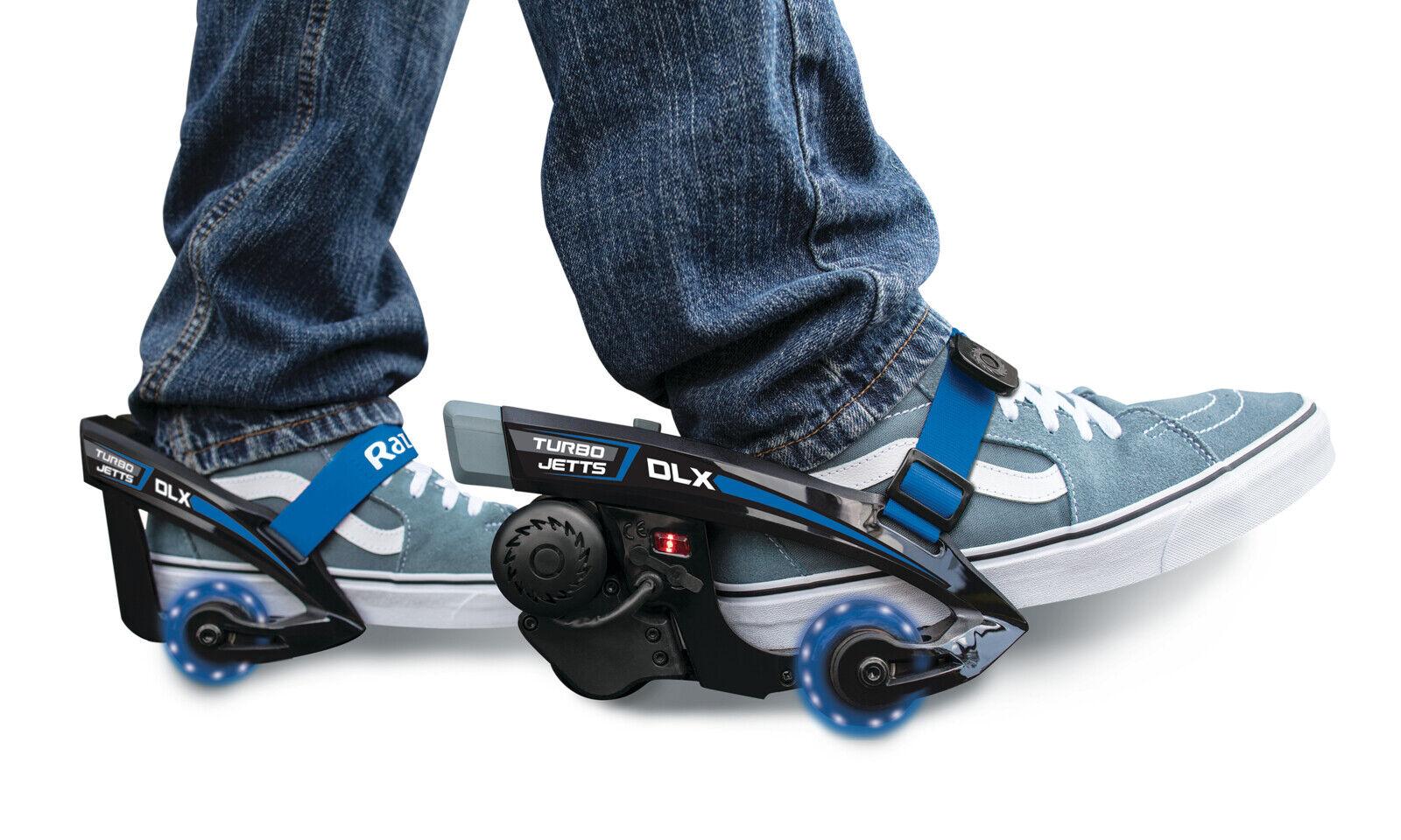 Razor Turbo Jetts Electric Heel Wheels - DLX bluee with Lighted Wheels