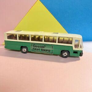 Gesoef-Mari-Grecia-Mari-Tour-Bus-1-87-SCALA-intatto-scarse-modello-Scala-Ferroviaria
