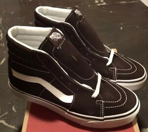 0b4f45d49c39fc Vans Sk8 Hi Chocolate Torte True White Sz Mens 7.5   Womens 9 NIB ...