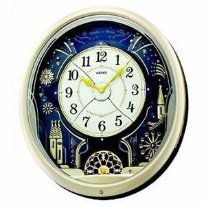 Seiko-QXM239S-Analogue-Musical-Melodies-in-Motion-Pendulum-Antique-Wall-Clock