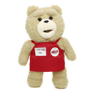 Movie-Film-TED-2-Bear-Market-Costume-Stuffed-Plush-Doll-Embed-Magnet-Inside