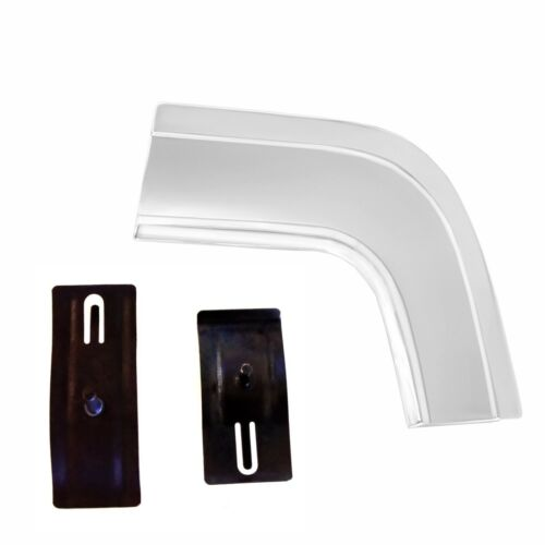 1964 Impala Rear Trunk Quarter Extension Cove Panel Molding Right w//Clips-M1724Y
