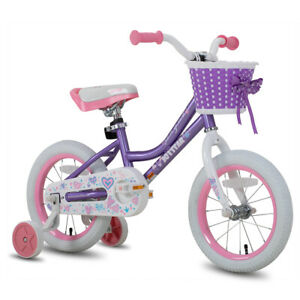 Joystar 12 14 16 18 Inch Kids Bike Bicycle With Training Wheels Girls Bike Ebay
