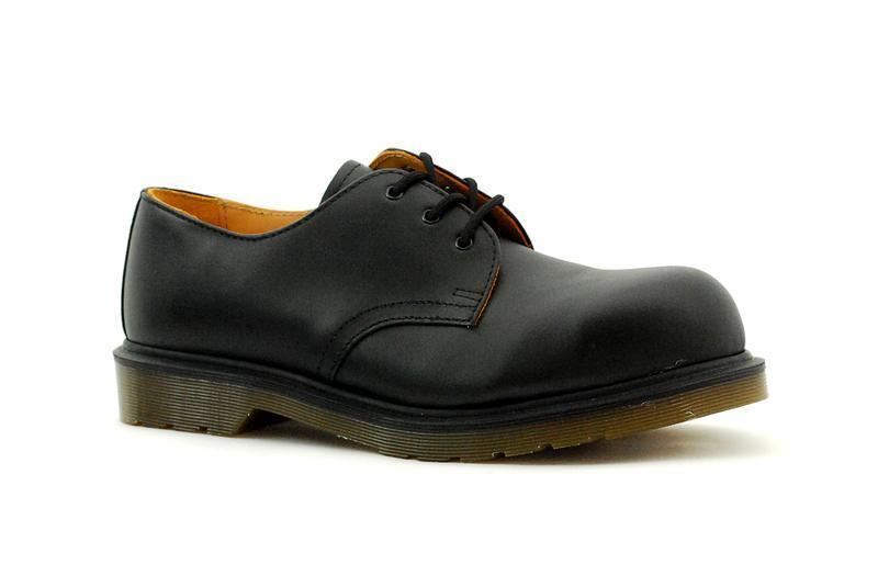 Dr Martens 3 Trou 1925 Capuchon D' Acier black Pw Fine 10110001