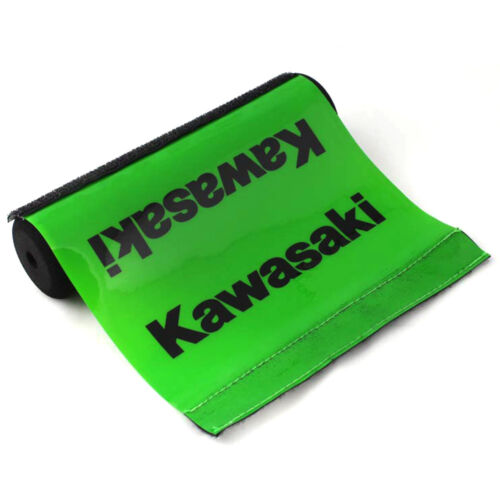 "Brand New Green//Black Handlebar Round Cross Bar Pad DIRT BIKE Motorcross 7.9/"""