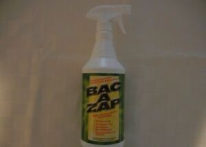 Details about Bac-A-Zap odor control for dead animals,carpets,sinks  Bac-A-Zap Nisus 1 Quart