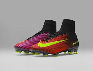 new style be9b6 2118a Image is loading NEW-Nike-Mercurial-SuperFly-V-Fg-Soccer-Cleats-