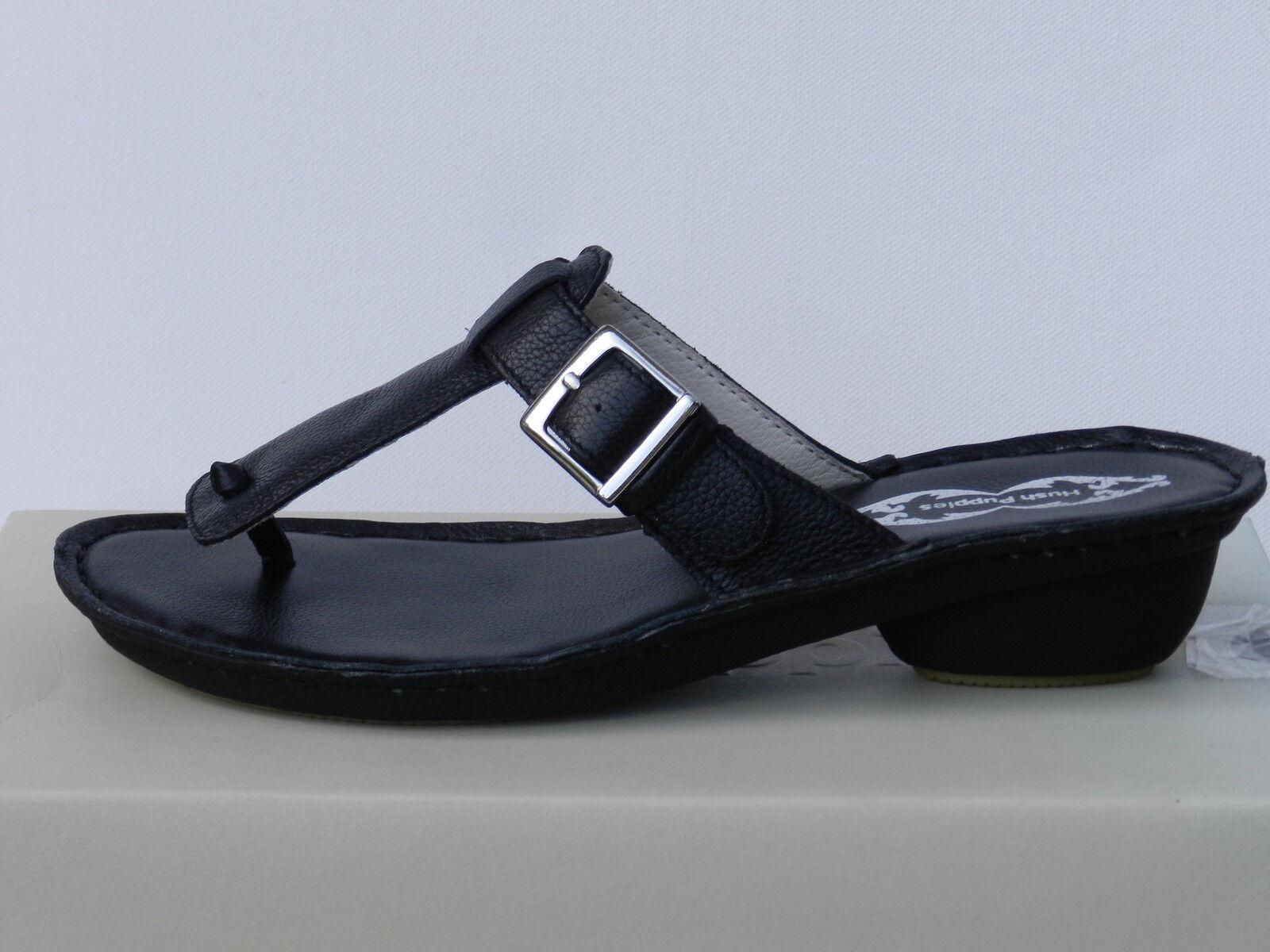 Hush puppies Araxa womens 41 sandals nude feet toe post flip flops uk7 new