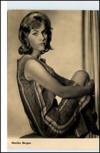 DDR-Progress-Starfoto-Film-Schauspieler-MONIKA-BERGEN-Defa-Fim-Schauspielerin