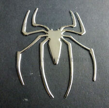 Self Adhesive Chrome Effect Spider Badge Decal for Toyota Yaris Verso Rav4 Supra