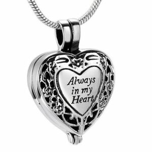Always-in-my-Heart-Locket-Urn-Necklace-Keepsake-Jewelry-for-Cremation-Ashes