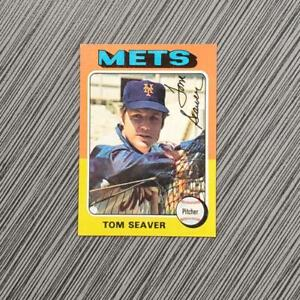 1975 Topps #370 Tom Seaver | PSA Worthy: NM-MT+