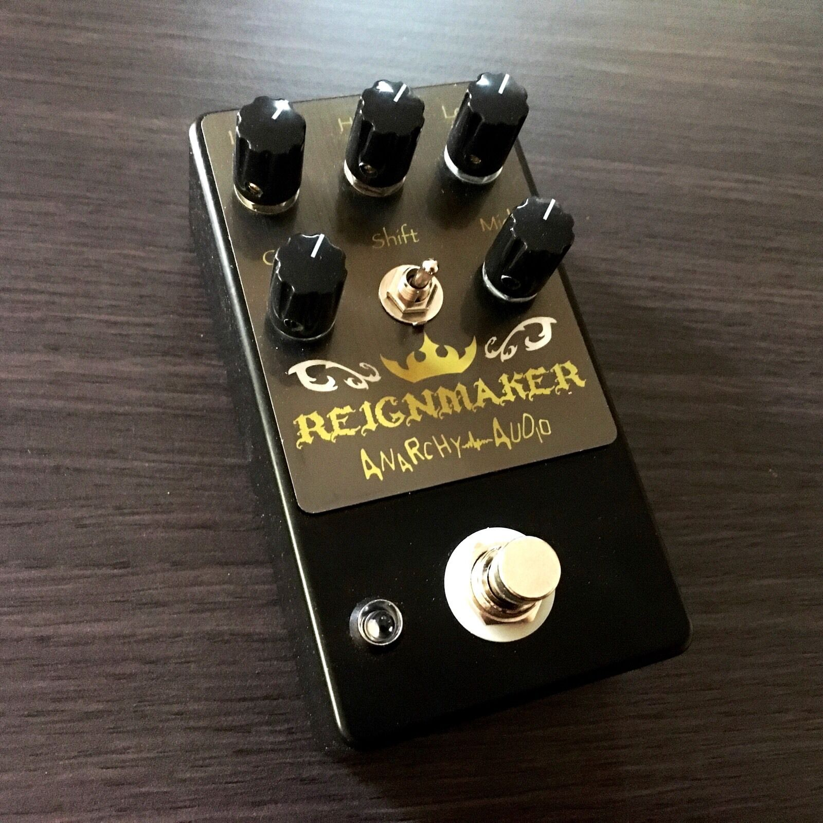 ANARCHY AUDIO - Reignmaker High Gain Distortion   Overdrive Pedal . BRAND NEW