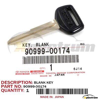 GENUINE TOYOTA UNCUT BLANK MASTER KEY 90999-00174 4RUNNER COROLLA PICKUP