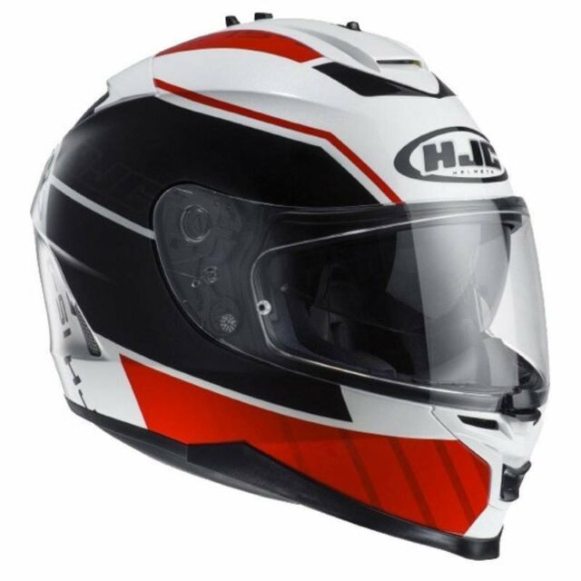 *NEW* HJC IS-17 TRIDENTS Motorcycle Helmet (Red/White/Black)  - SMALL (55-56cm)