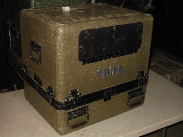 ECS 25x20x23  FRP Composite Equipment Case With Cable Cable Cable Door Accessory Hatch Field b45030