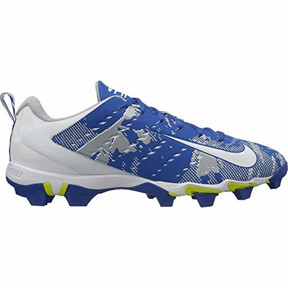 NIKE Men's Vapor Untouchable Shark 3 FCP Football Cleat Game Royal/White/Wolf Grey,University Red/White/Wolf Grey
