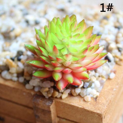 Supplies Artificial Plants Plastic Succulent Fall Leaves Flores Fake Flower