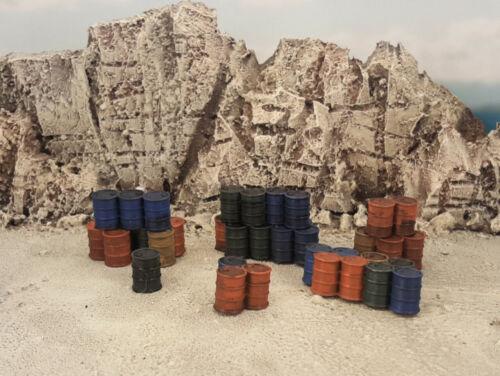 Shanty Junk Barrels Terrain Pack 40k Legion Scenery Tabletop 28mm