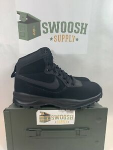 Nike-Manoadome-Triple-Black-New-Mens-14-844358-003-New-Hiking-Books-Work-Boots